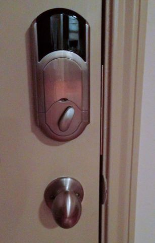 Kwikset SmartCode Deadbolt with Home Connect Technology featuring Z-Wave